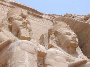 King Ramses II and Queen Nefertari