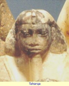 Nubian Taharqa