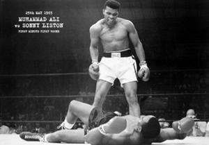 Muhammad Ali vs Sonny Liston 25th May 1965